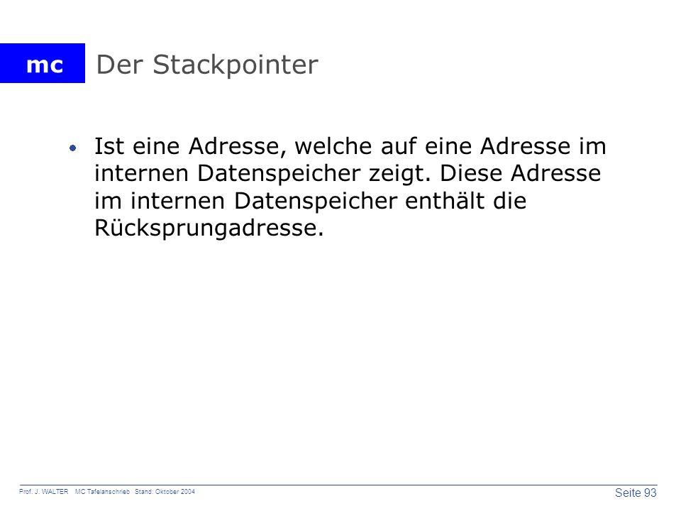 Der Stackpointer