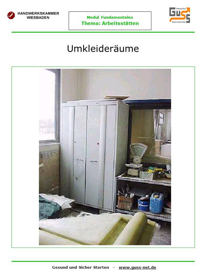 Umkleideräume