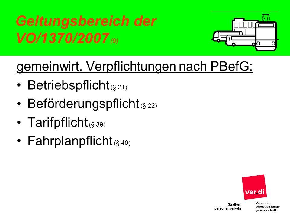 Geltungsbereich der VO/1370/2007 (9)
