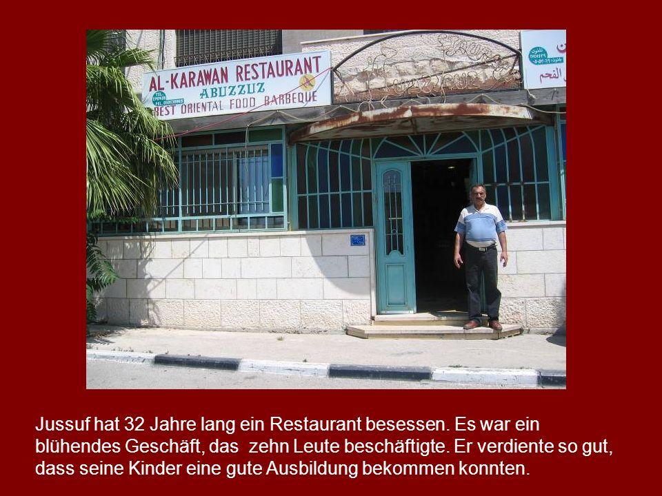 Jussuf hat 32 Jahre lang ein Restaurant besessen