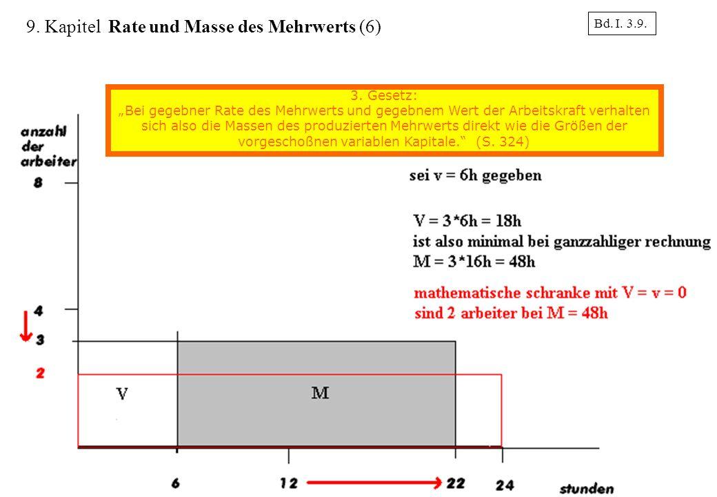 9. Kapitel Rate und Masse des Mehrwerts (6)