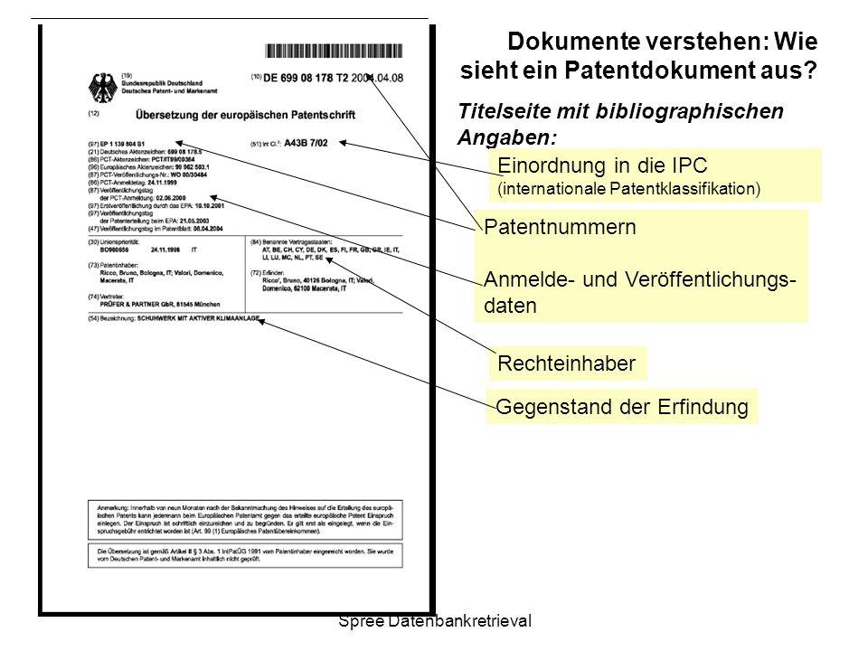 Dokumente verstehen: Wie sieht ein Patentdokument aus