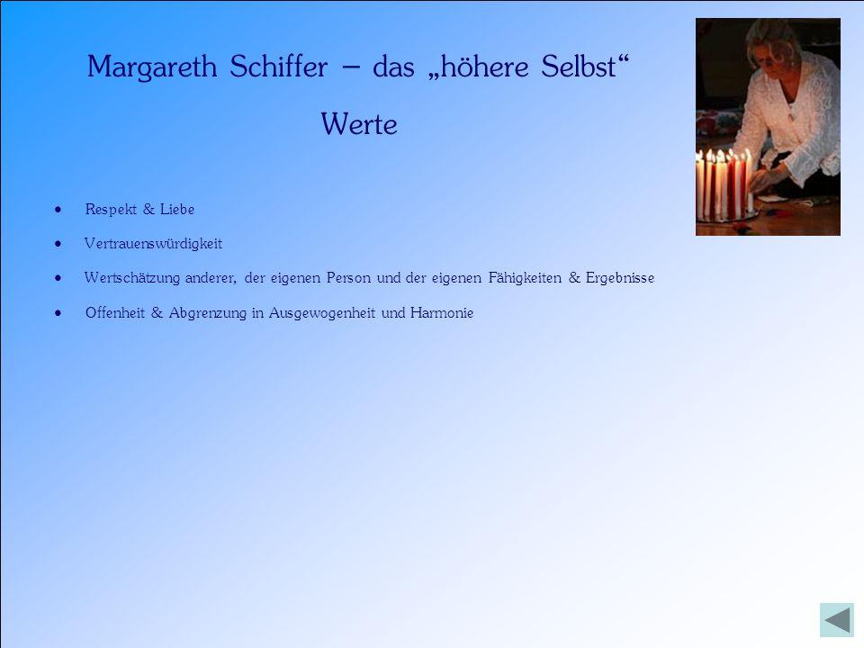 """Margareth Schiffer – das """"höhere Selbst"""