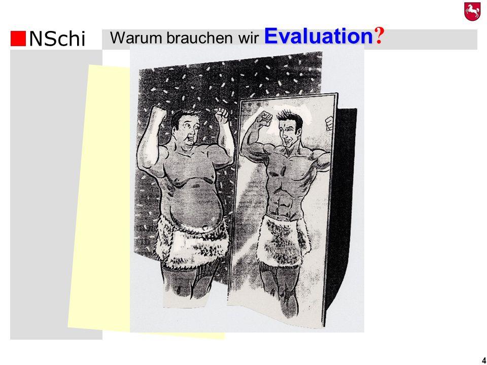 Warum brauchen wir Evaluation