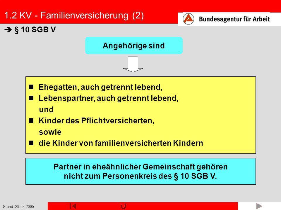 1.2 KV - Familienversicherung (2)