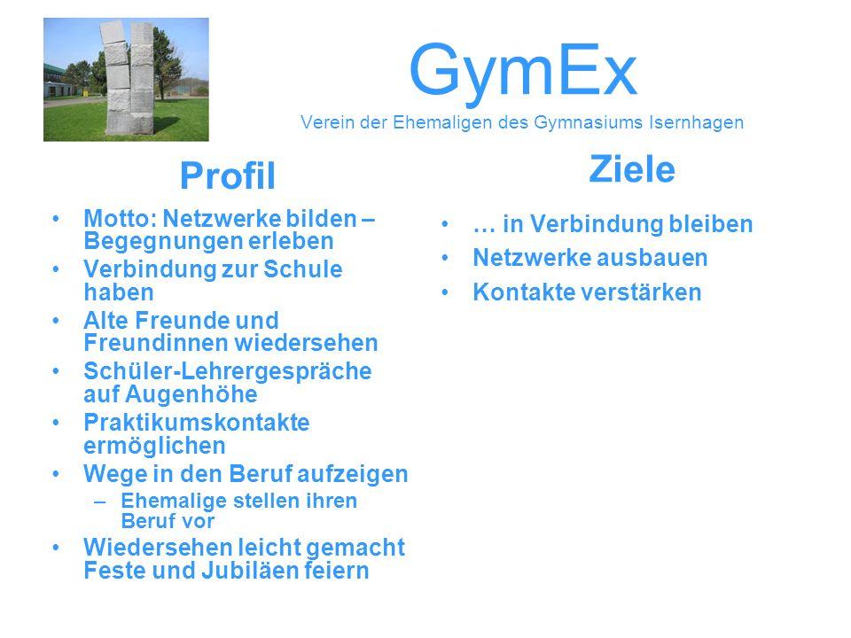 GymEx Verein der Ehemaligen des Gymnasiums Isernhagen