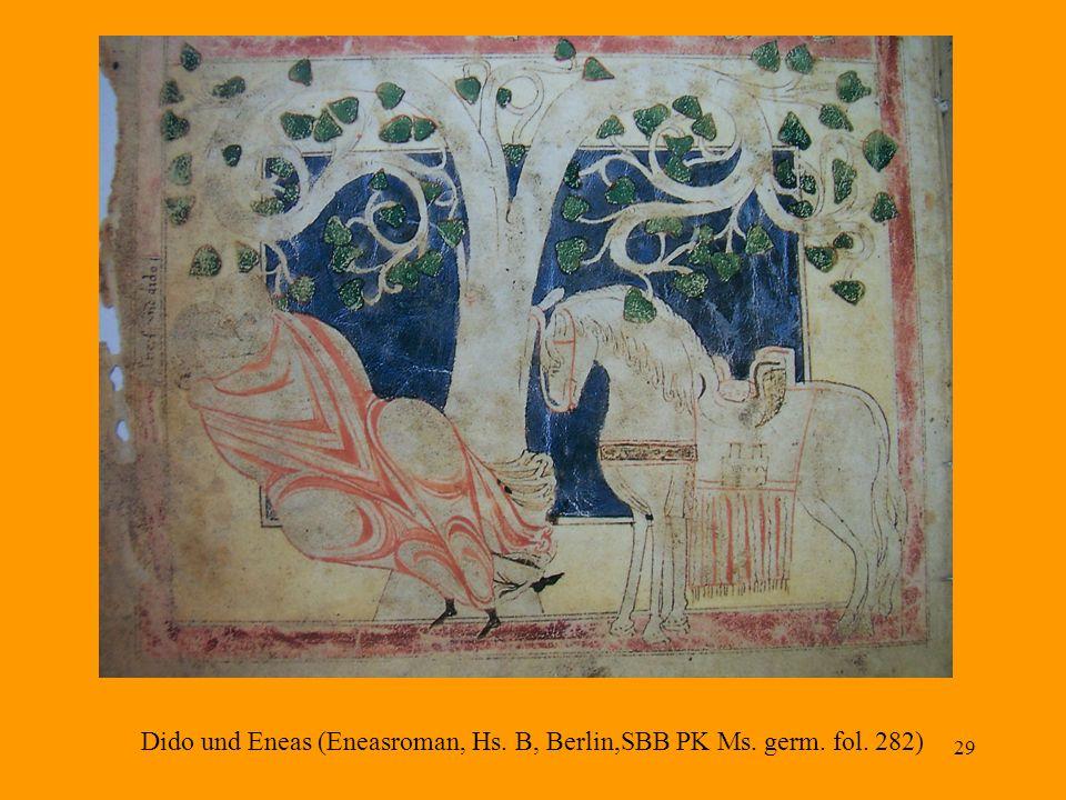 Dido und Eneas (Eneasroman, Hs. B, Berlin,SBB PK Ms. germ. fol. 282)