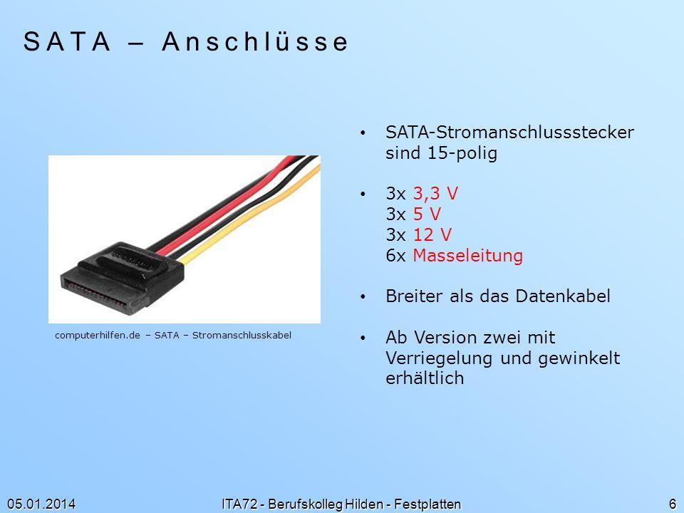 ITA72 - Berufskolleg Hilden - Festplatten