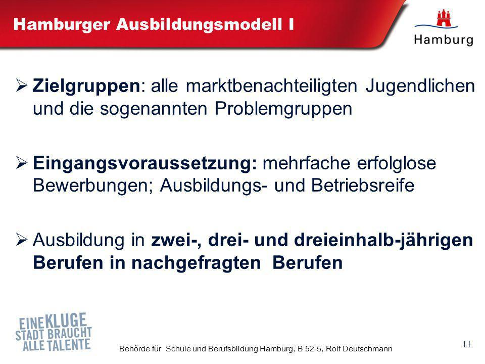 Hamburger Ausbildungsmodell I