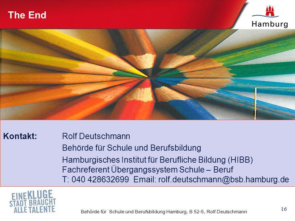 Behörde für Schule und Berufsbildung Hamburg, B 52-5, Rolf Deutschmann