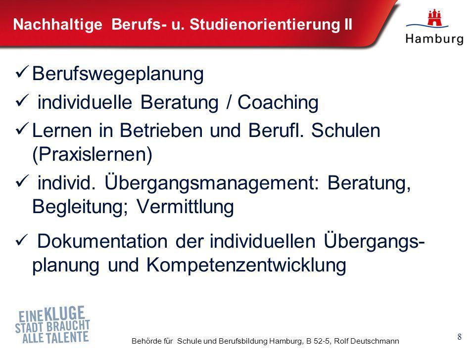 Nachhaltige Berufs- u. Studienorientierung II