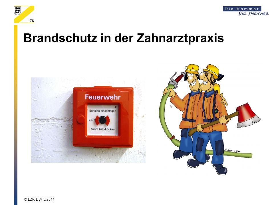 Brandschutz in der Zahnarztpraxis