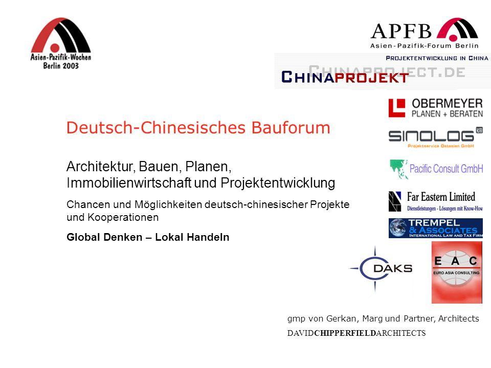Deutsch-Chinesisches Bauforum