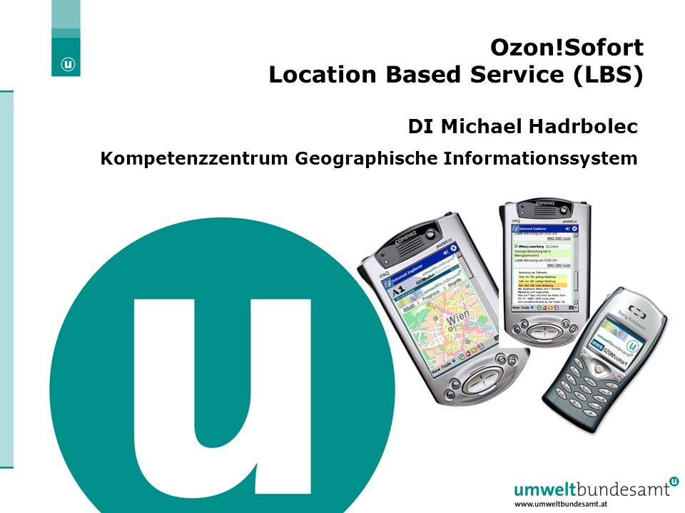 Ozon!Sofort Location Based Service (LBS)