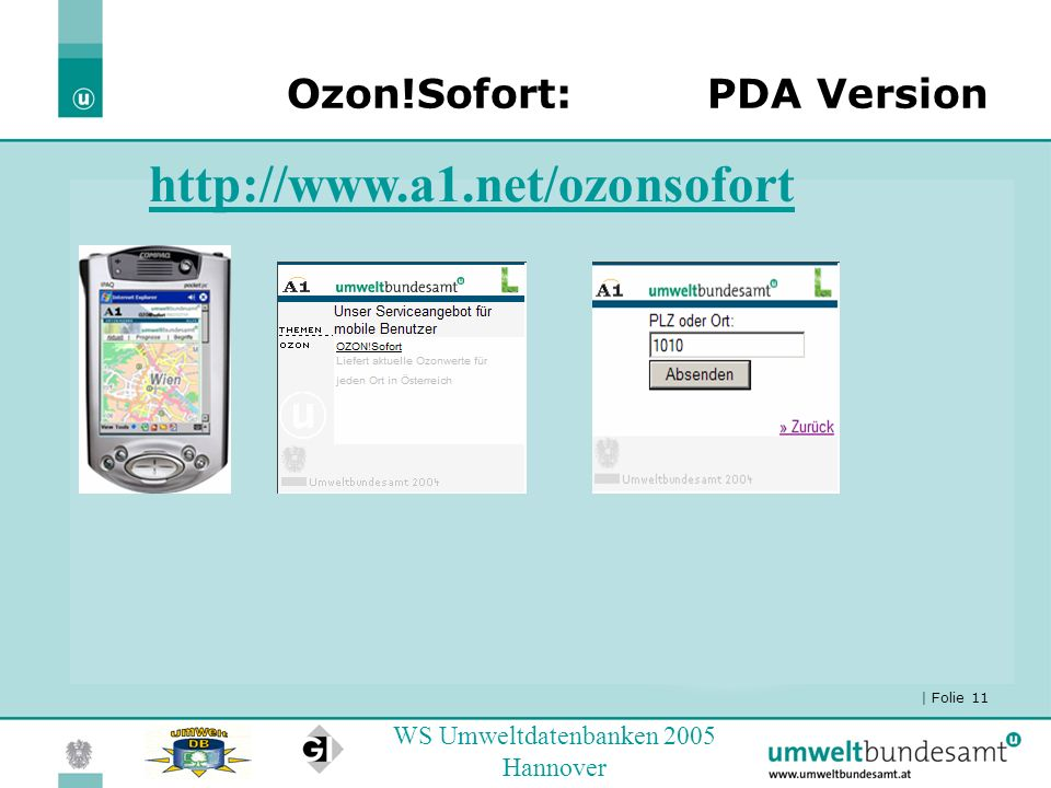Ozon!Sofort: PDA Version