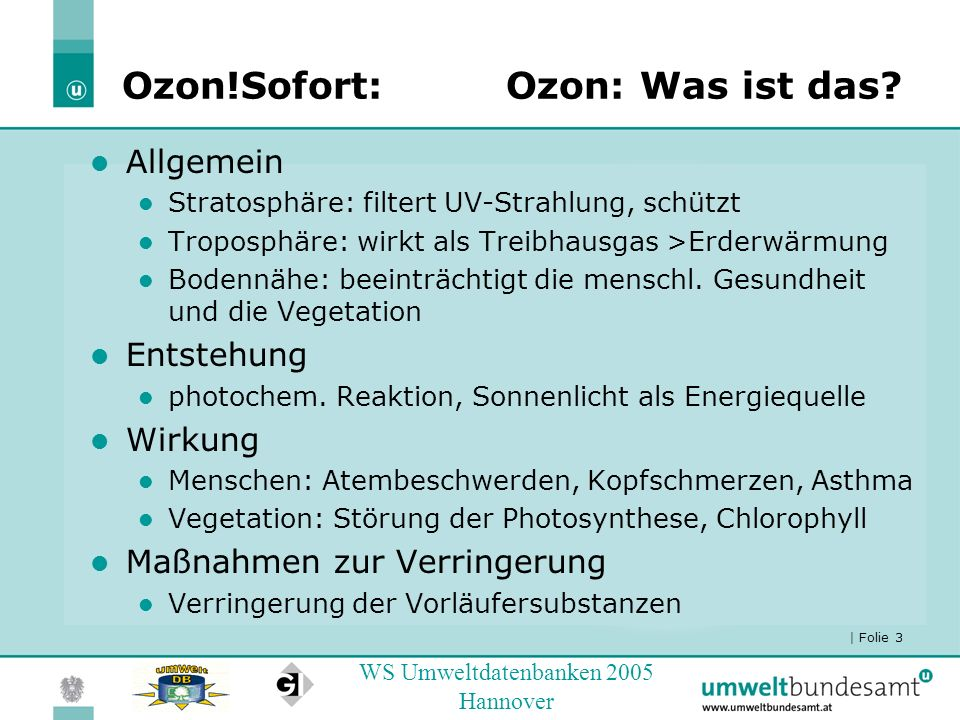 Ozon!Sofort: Ozon: Was ist das