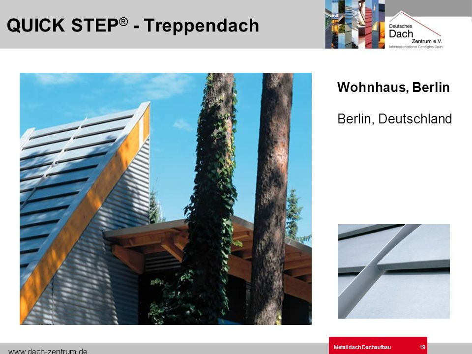 QUICK STEP® - Treppendach
