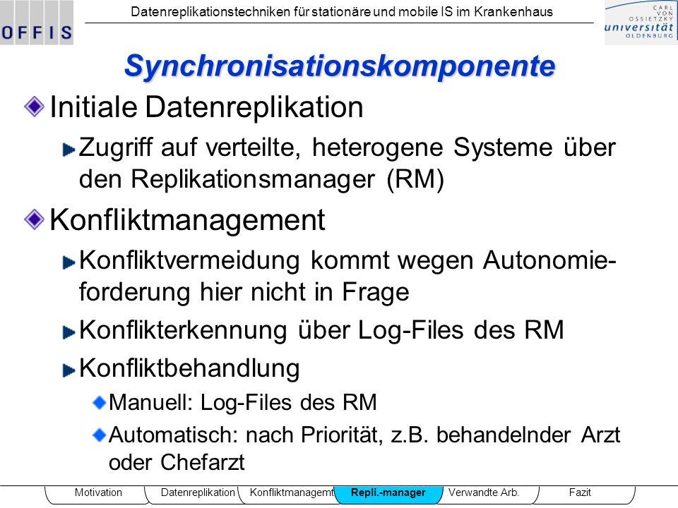Synchronisationskomponente