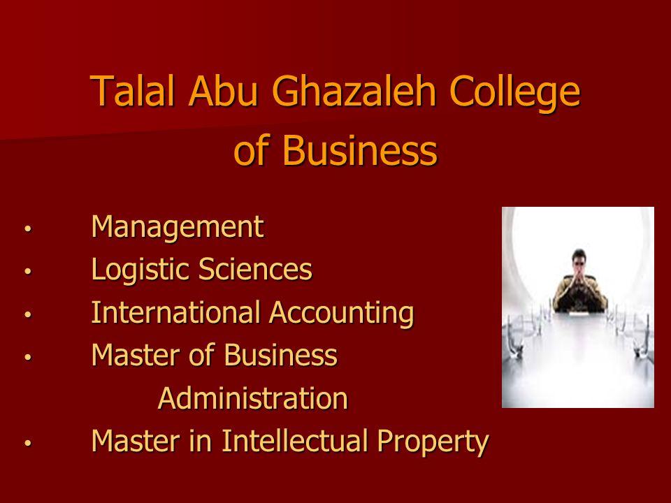 Talal Abu Ghazaleh College
