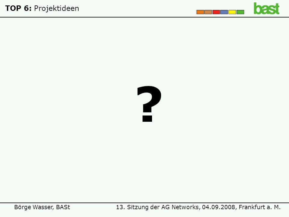 TOP 6: Projektideen
