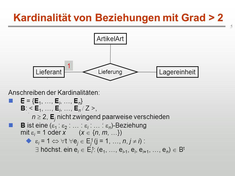Kardinalität von Beziehungen mit Grad > 2