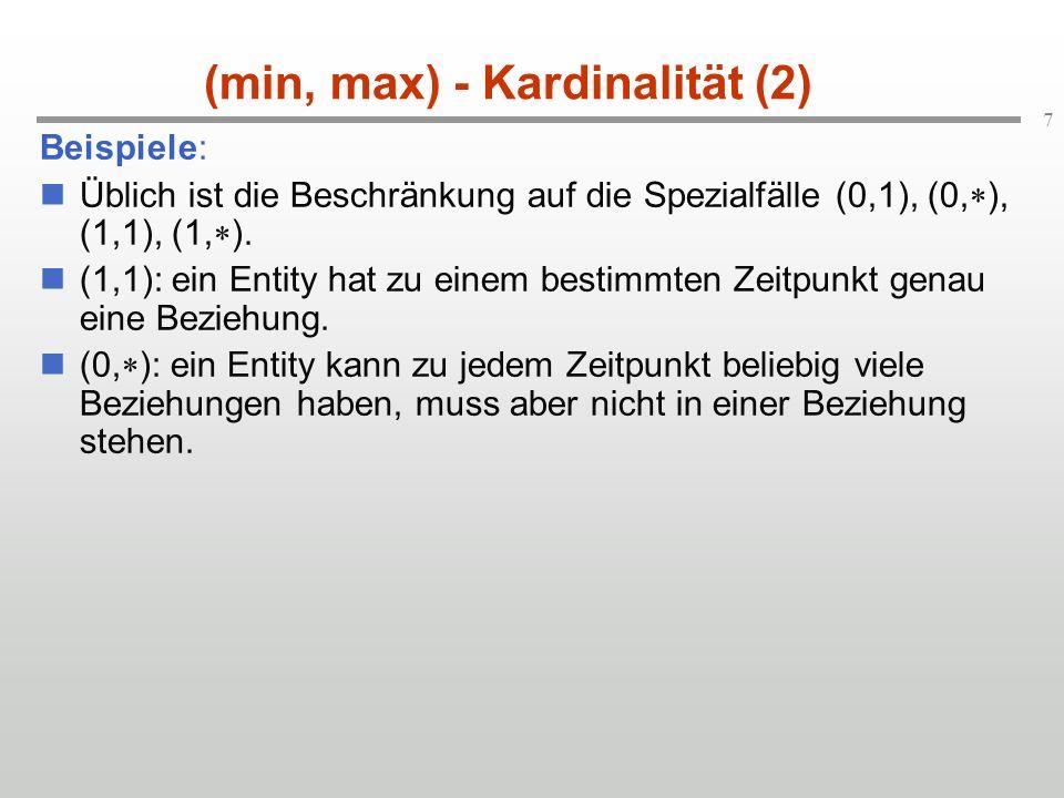 (min, max) - Kardinalität (2)