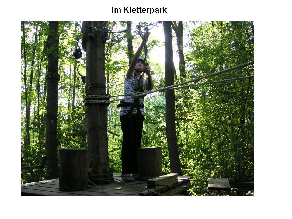 Im Kletterpark Im Kletterpark