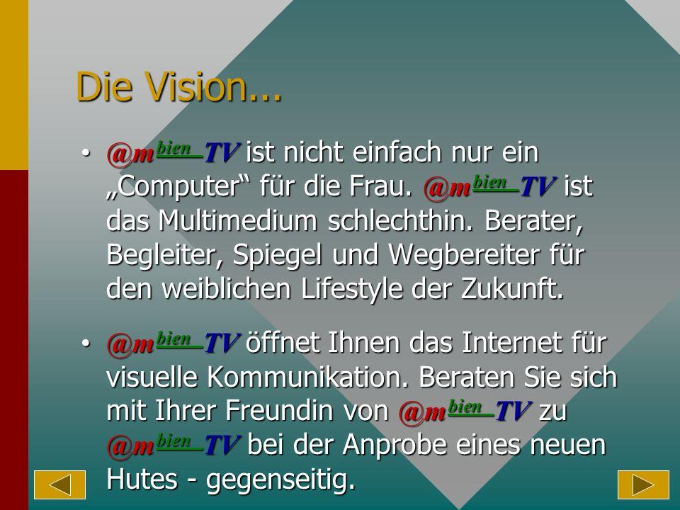 Die Vision...