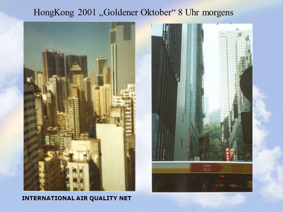 """HongKong 2001 """"Goldener Oktober 8 Uhr morgens"""