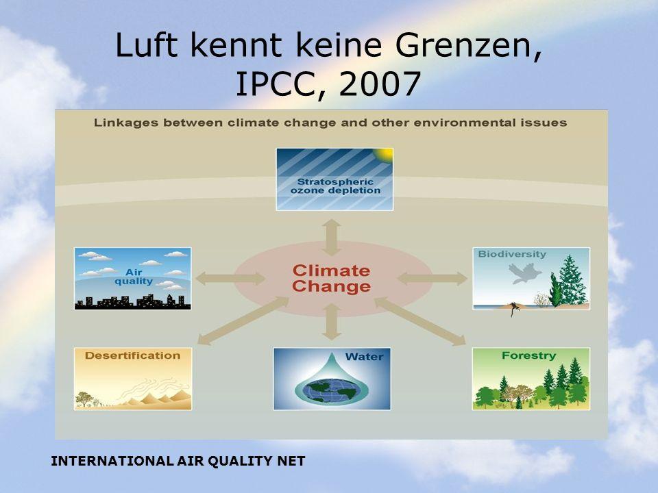 Luft kennt keine Grenzen, IPCC, 2007