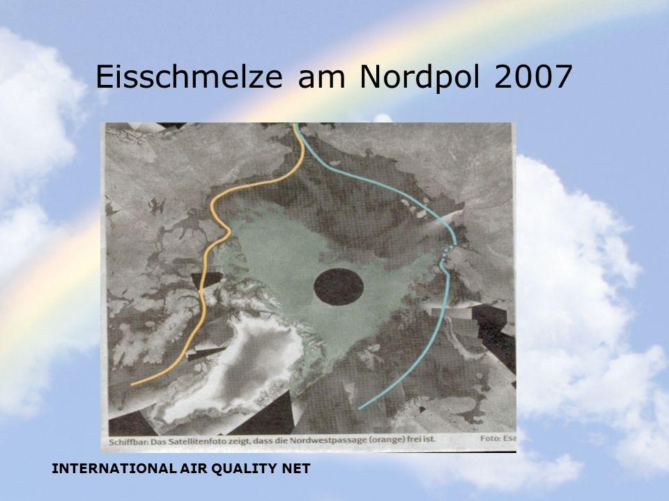 Eisschmelze am Nordpol 2007