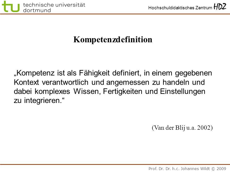 """Kompetenzdefinition """"Kompetenz ist als Fähigkeit definiert, in einem gegebenen. Kontext verantwortlich und angemessen zu handeln und."""