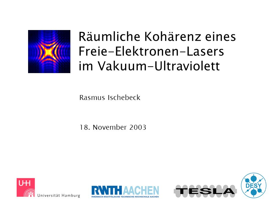 Rasmus Ischebeck 18. November 2003