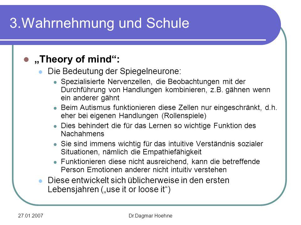 3.Wahrnehmung und Schule