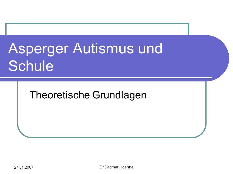 Asperger Autismus und Schule