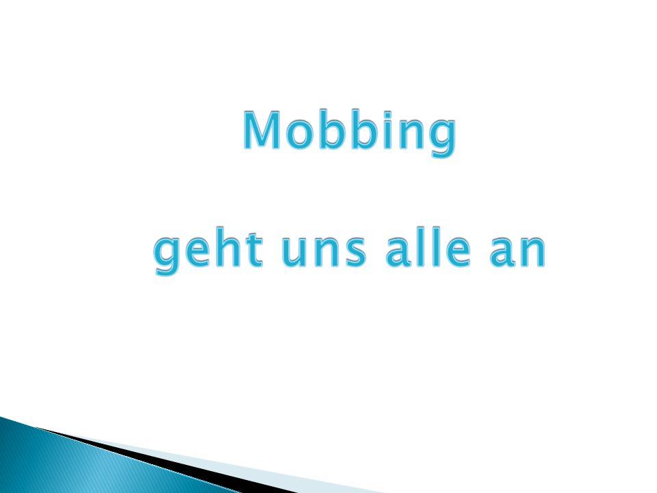 Mobbing geht uns alle an