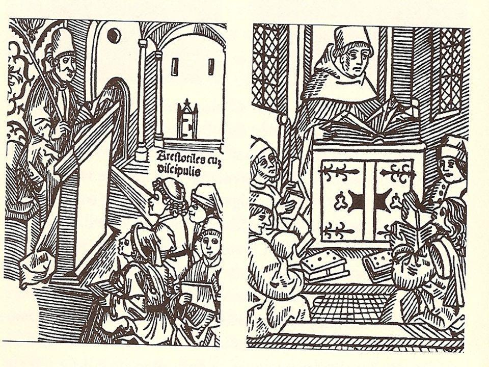Schulszenen, frühes 15. Jh. In: Alberto Manguel, Eine Geschichte des Lesens (1998, S. 92)