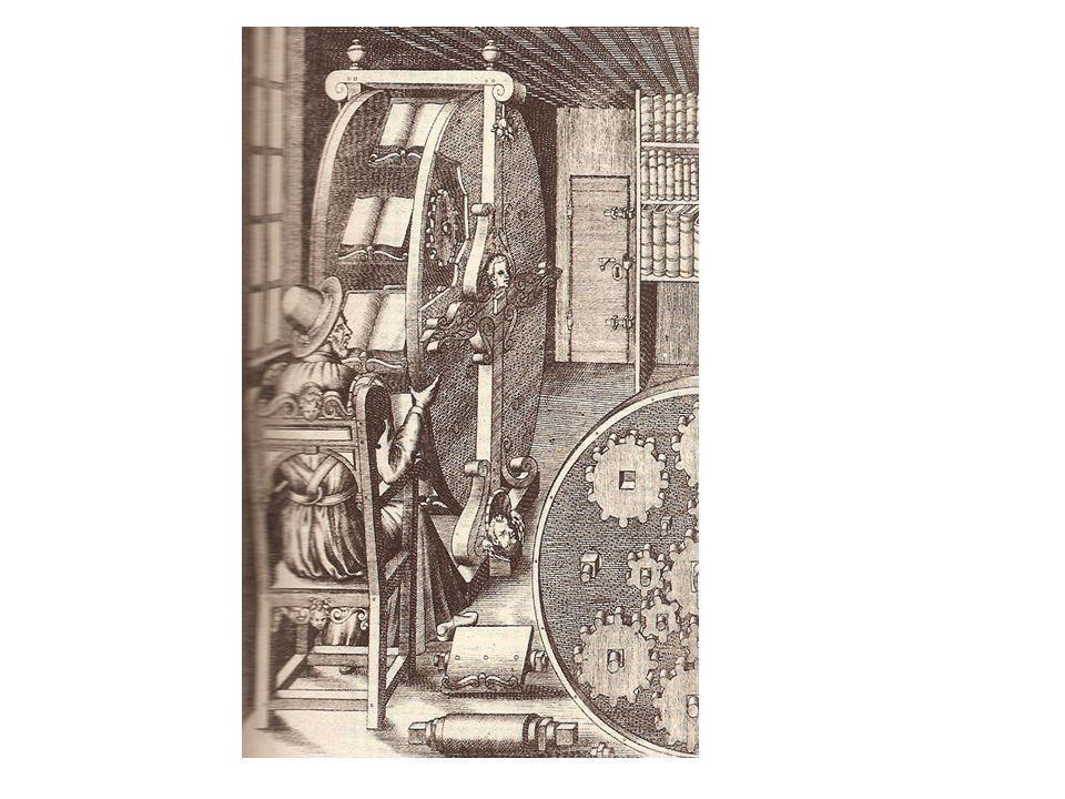 Agostino Ramelli: Lesemaschine (1588)