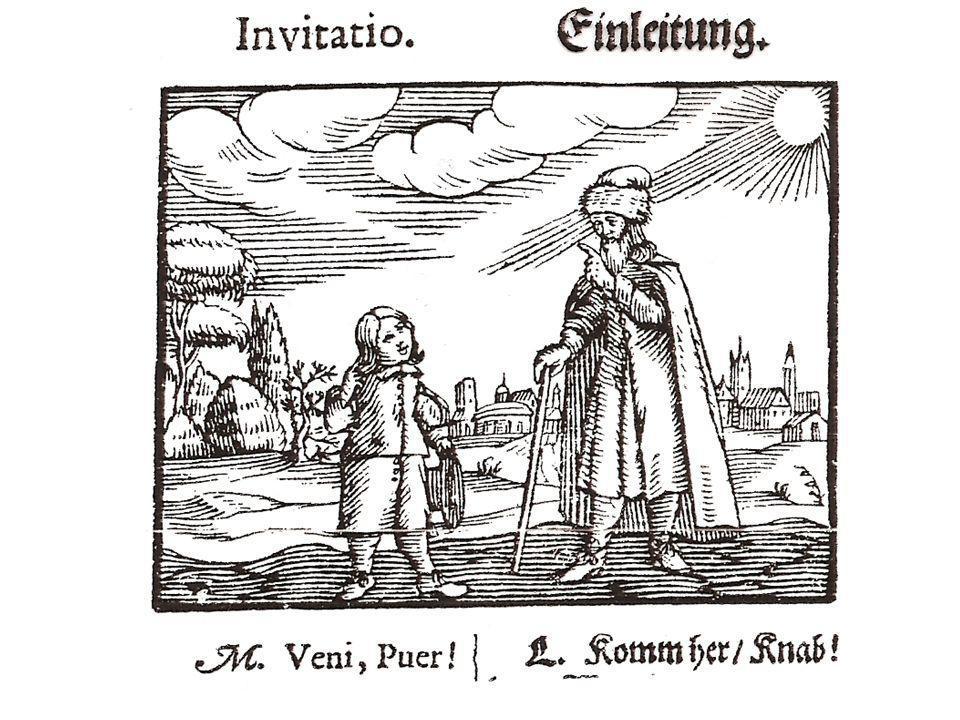 Comenius: Orbis sensualium pictus (1658)