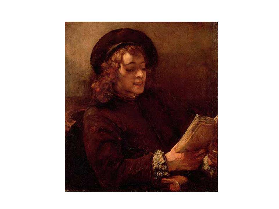 Rembrandt: Titus (1656), Öl auf Leinwand, Wien