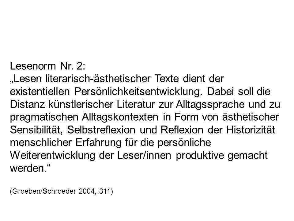 Lesenorm Nr. 2: