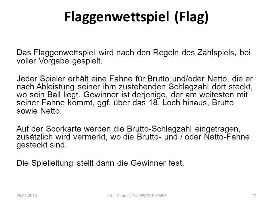 Flaggenwettspiel (Flag)