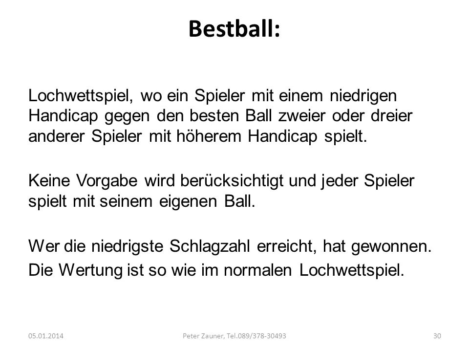Bestball: