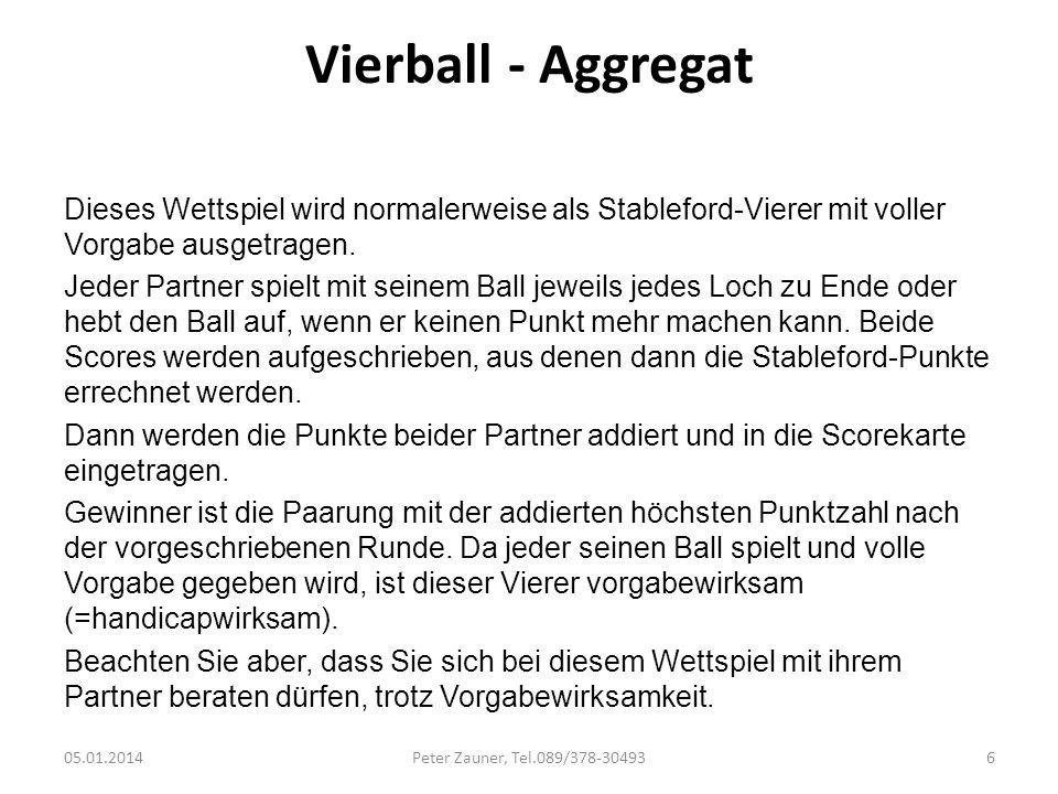 Vierball - Aggregat