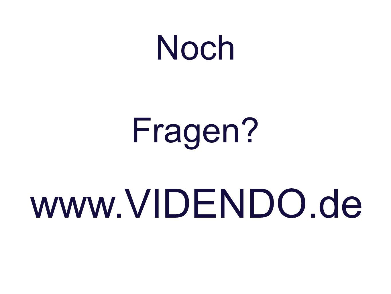 Noch Fragen www.VIDENDO.de
