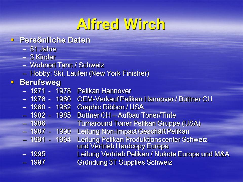 Alfred Wirch Persönliche Daten Berufsweg 51 Jahre 3 Kinder
