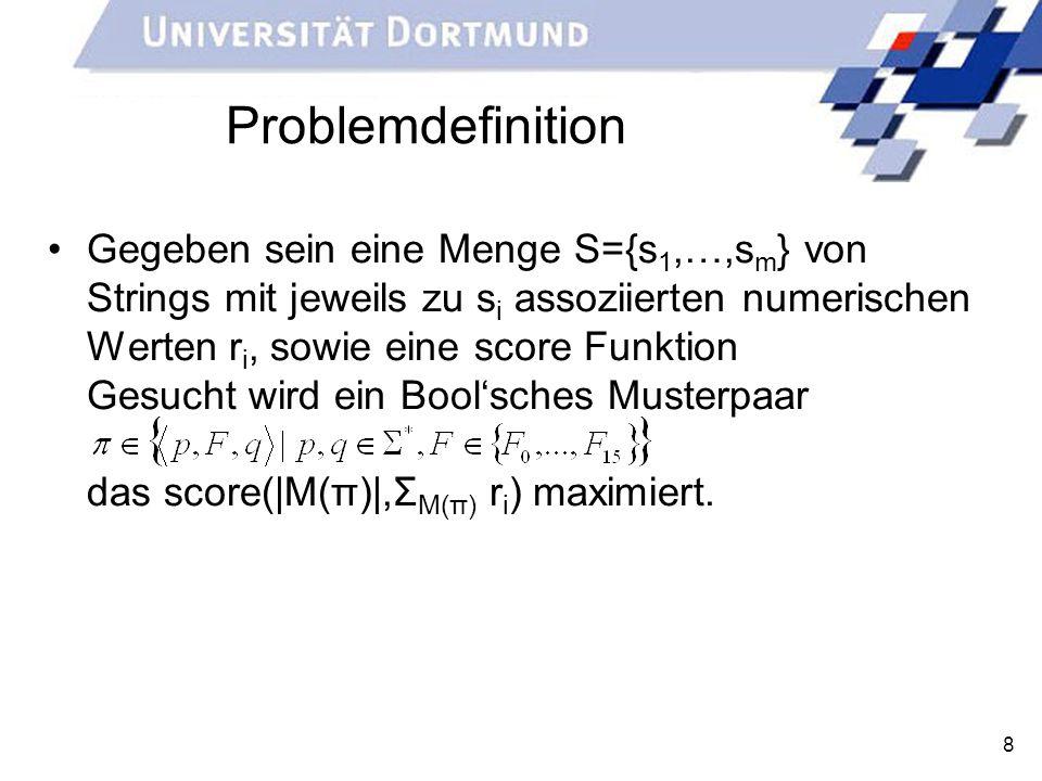 Problemdefinition