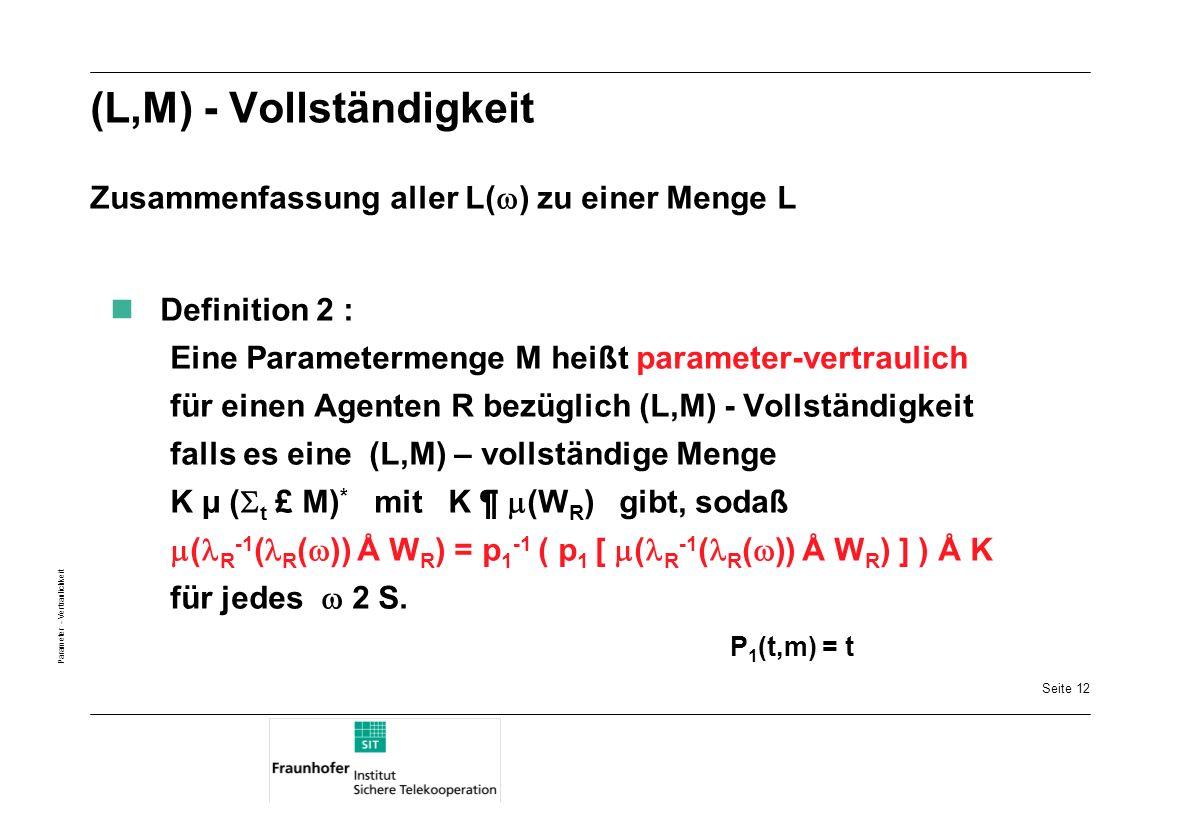(L,M) - Vollständigkeit