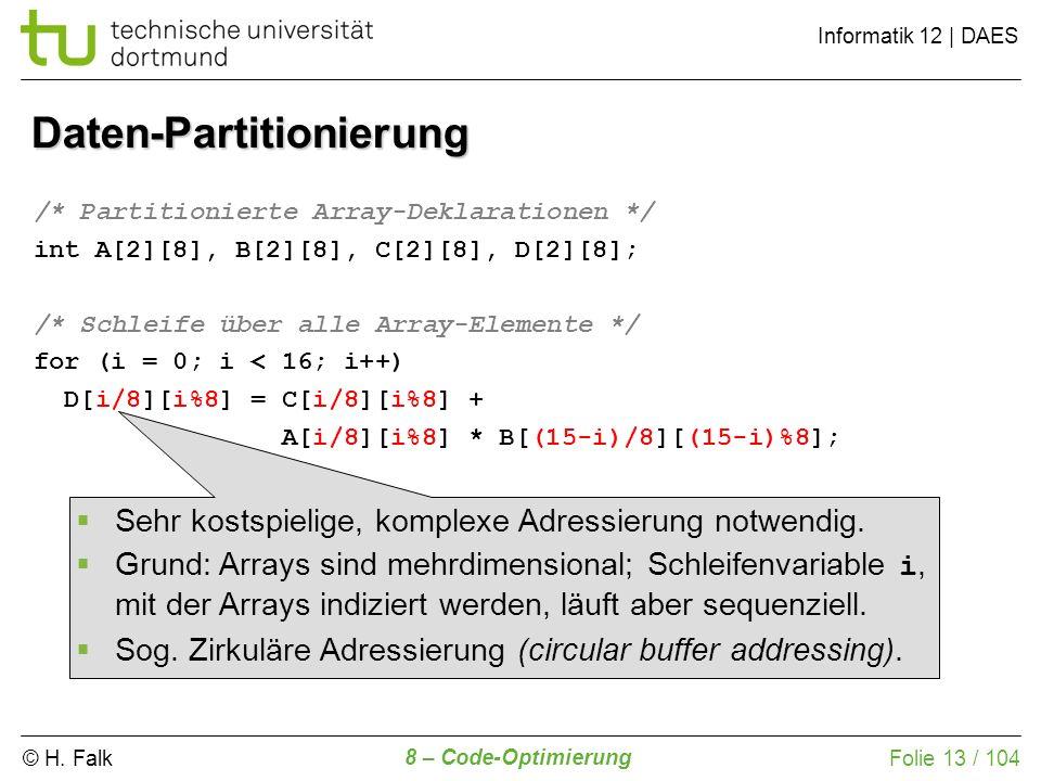 Daten-Partitionierung