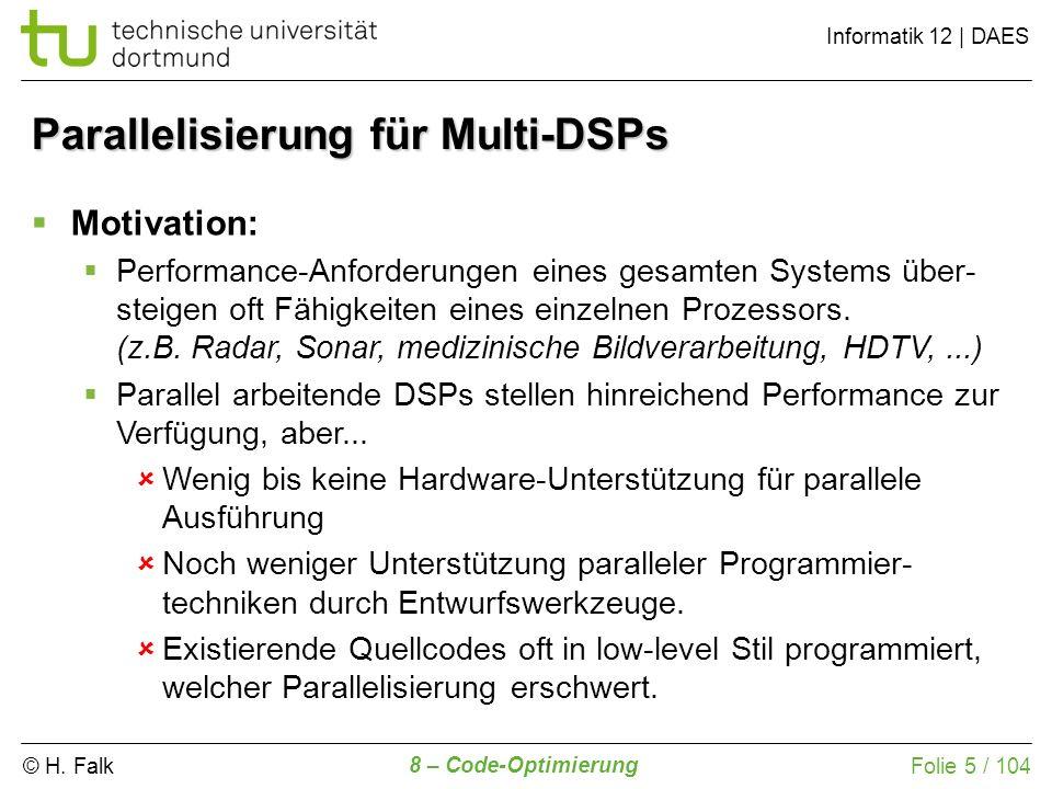Parallelisierung für Multi-DSPs